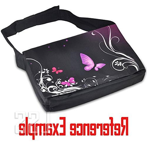 """LSS 17-17.3"""" Compartment with Colorful Almond Trees Case 16"""" Smaller Size"""