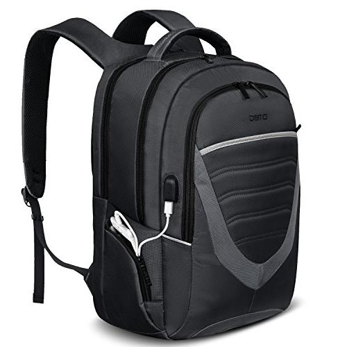 173 inch laptop backpack usb charging portdtbg durable trave