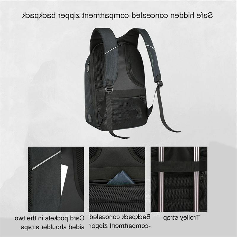 2018 Anti-theft Laptop Notebook Backpack+USB Charging Port