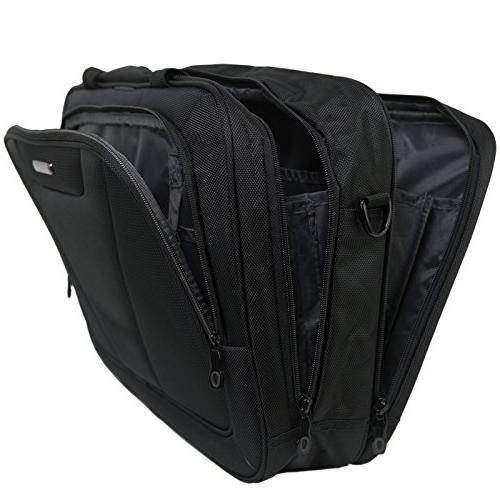 Alpine Laptop Organizer Black