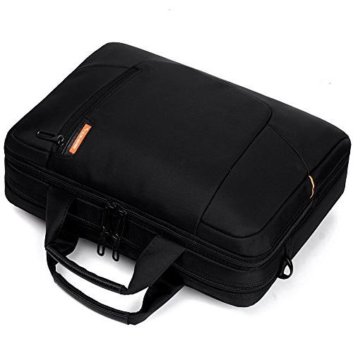 BRINCH inch Soft Nylon Waterproof Laptop Case Cover Strap with Side Pockets Handles for Pro 15