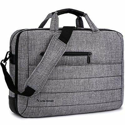BRINCH 17.3 Inch Nylon Shockproof Carry Laptop Case Messenge
