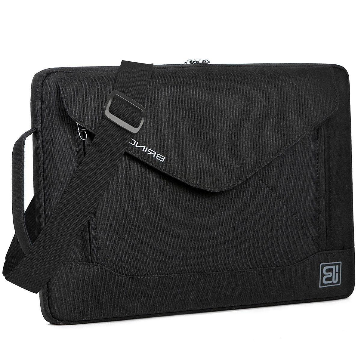 BRINCH Durable Slim Envelope Nylon 15.6 Inch Laptop Messenge