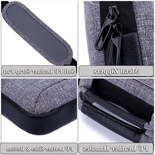 Brinch 17.3 Suit Portable Sleeve Case Laptop, Tablet, Macbook, - Purple