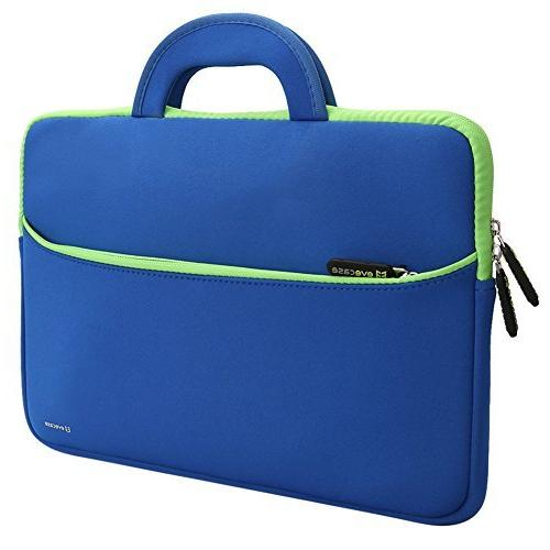 Evecase 13.3-14inch Slim Portable Neoprene Carrying Laptop S