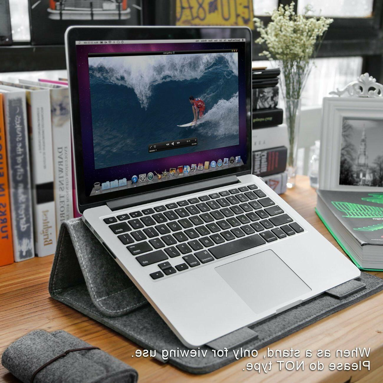 Inateck Laptop Tablet with Stand Function For iPad Pro Macbook