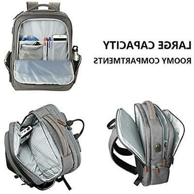 KROSER Backpack Inch Daypack Water-Repellent Bag With USB