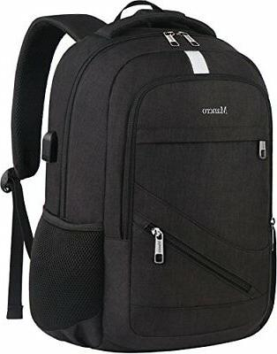 Laptop Backpack 15.6, Mancro Anti Theft Travel Business Comp