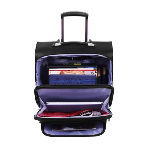 AirTraveler Rolling Wheels Rolling Computer Bag On