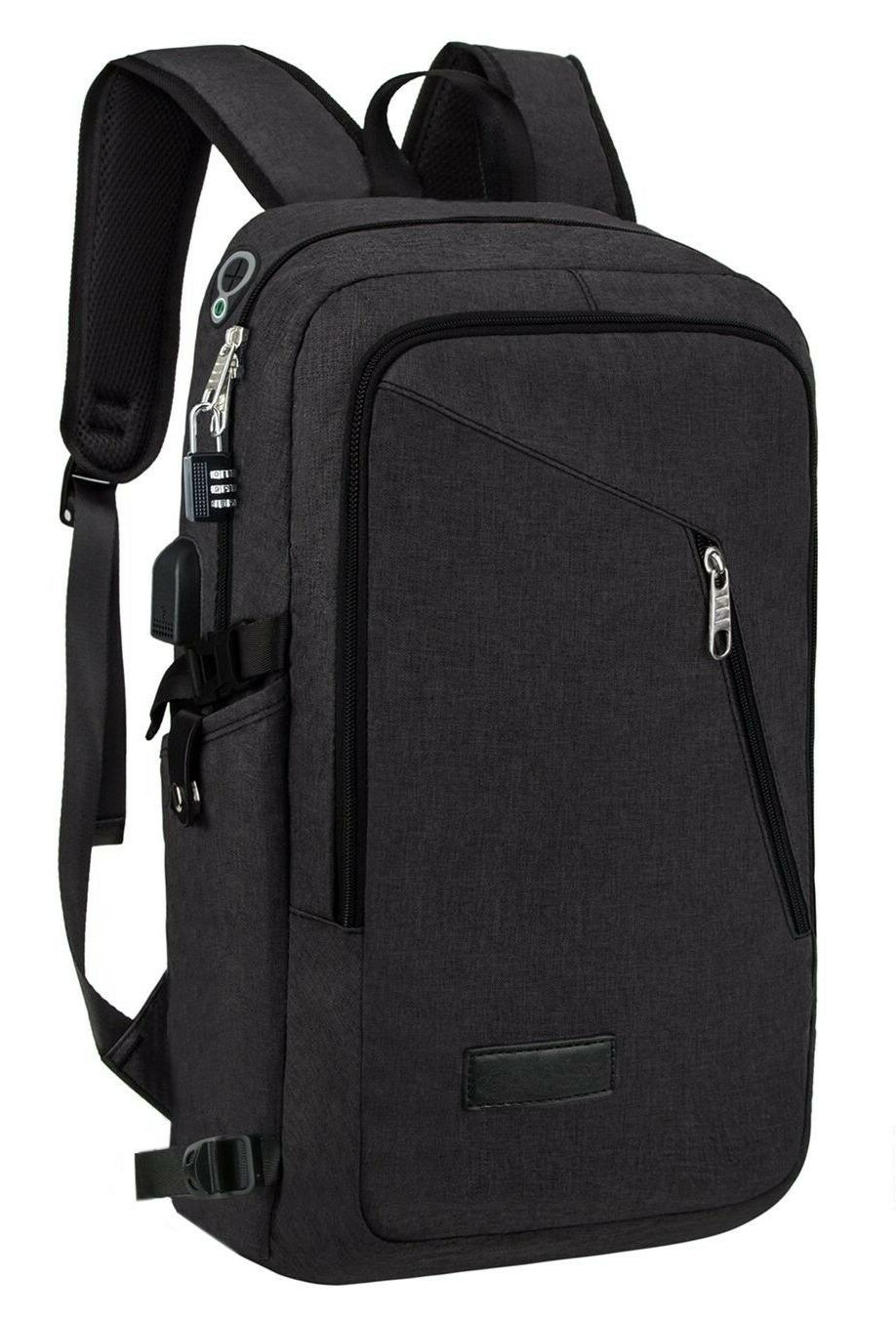 Anti-theft Backpack Laptop with BLAC