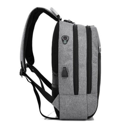Anti-theft Backpack Charge Port Computer Bag