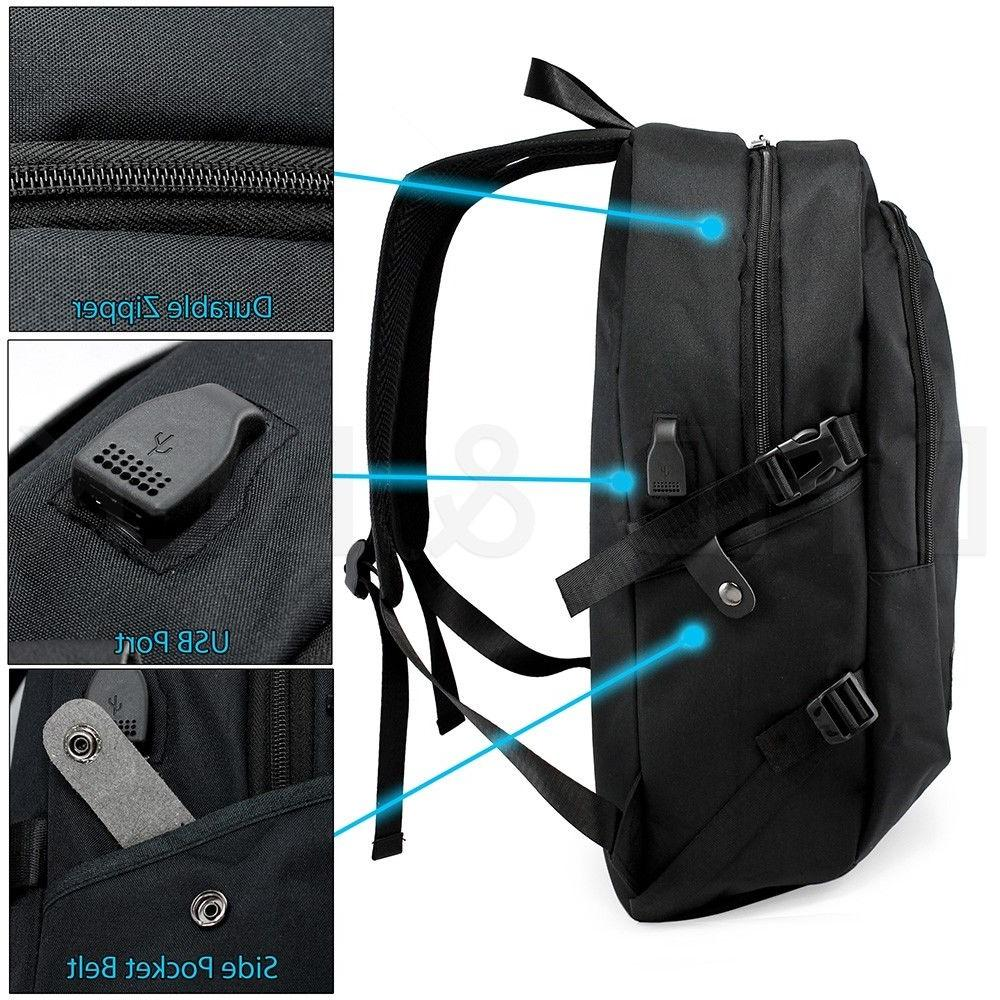Anti-theft Charging Backpack Laptop Travel School Bag
