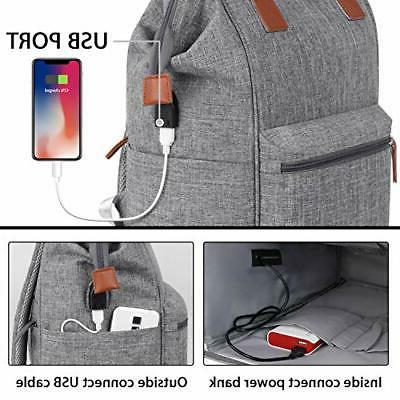 Backpack 15.6 Inch USB Charging