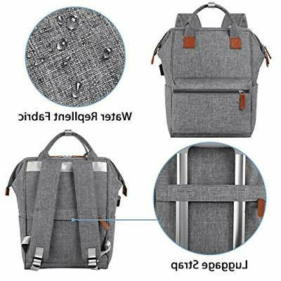 Backpack 15.6 Inch Laptop USB Charging
