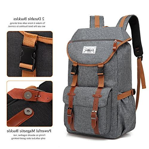 Travel CoolBELL 17.3 Inches Laptop Outdoor School Daypack Bag