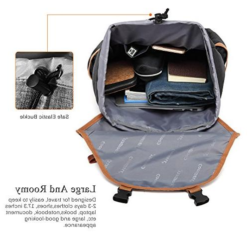 Inches Laptop Outdoor Hiking Knapsack School Daypack Business Bag