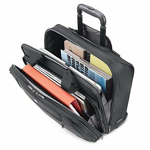 Rolling Laptop Bag Bags For Women Men Professionals Solo Bry
