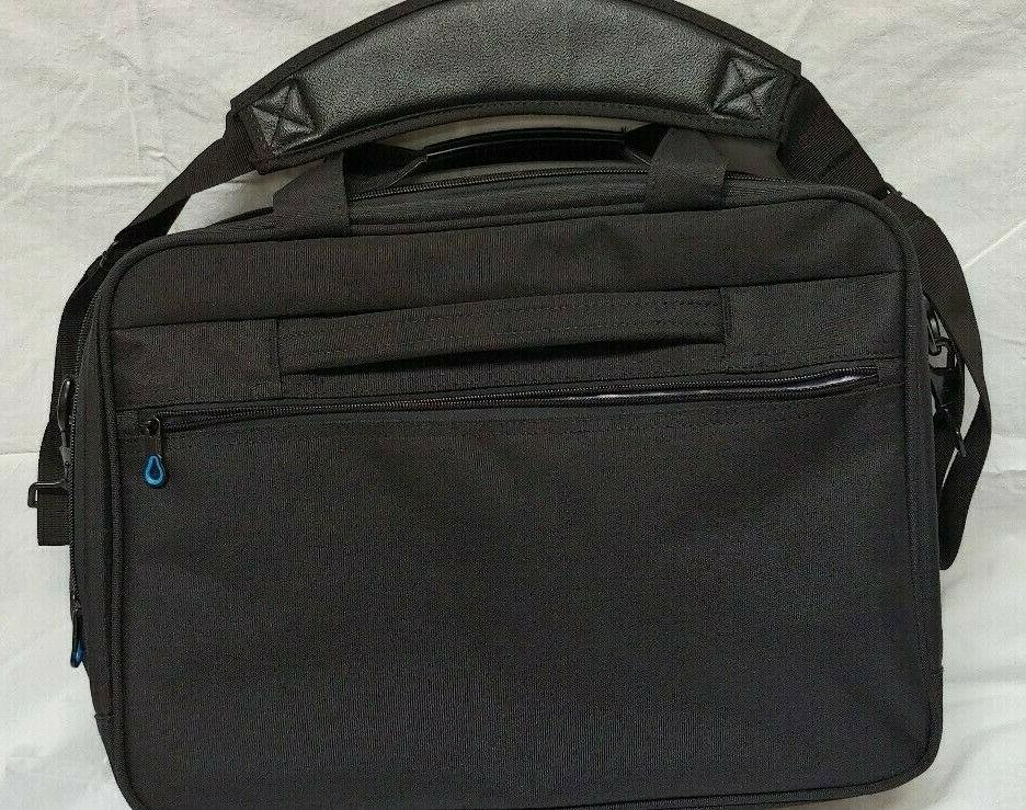 Kroser Black Messenger Bag Compartments Belt