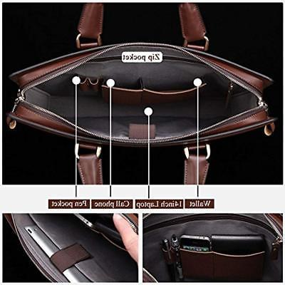 Briefcases Leather Lawyers Laptop Slim For Women