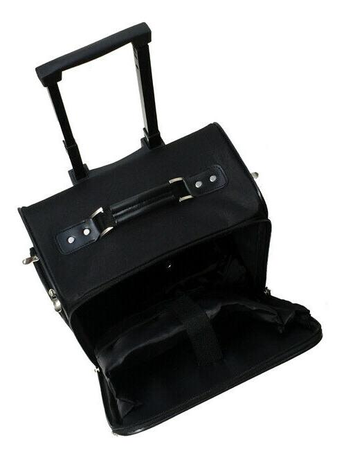"""Business and Black 14"""" briefcase , under seat bag"""