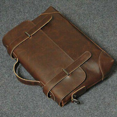 Business Briefcase Leather Messenger Bag Fashion Bags US