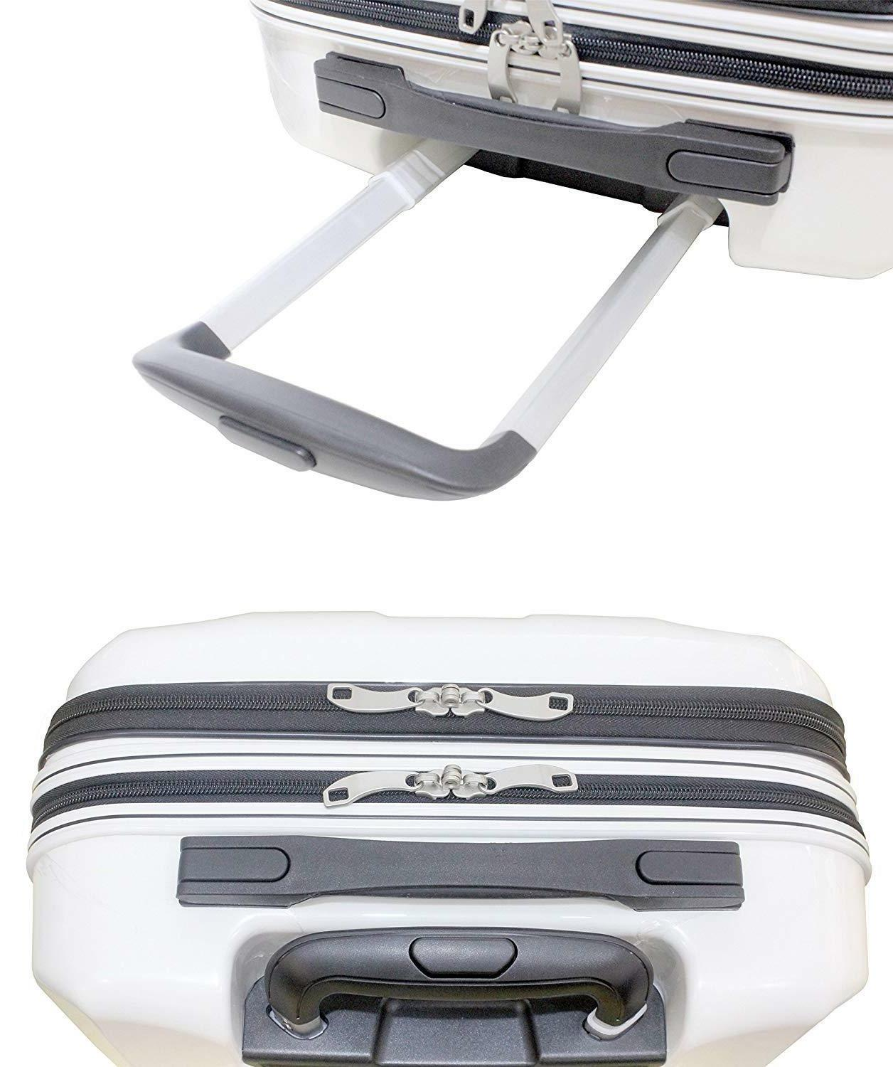 "Exzact 20""/hard shell / Pocket for White"