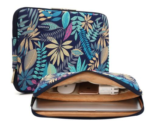 KAYOND Canvas Water-Resistant for 15.6-17 Inch Laptop Sleeve