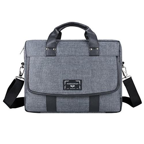 chrono grey tote messenger carrying