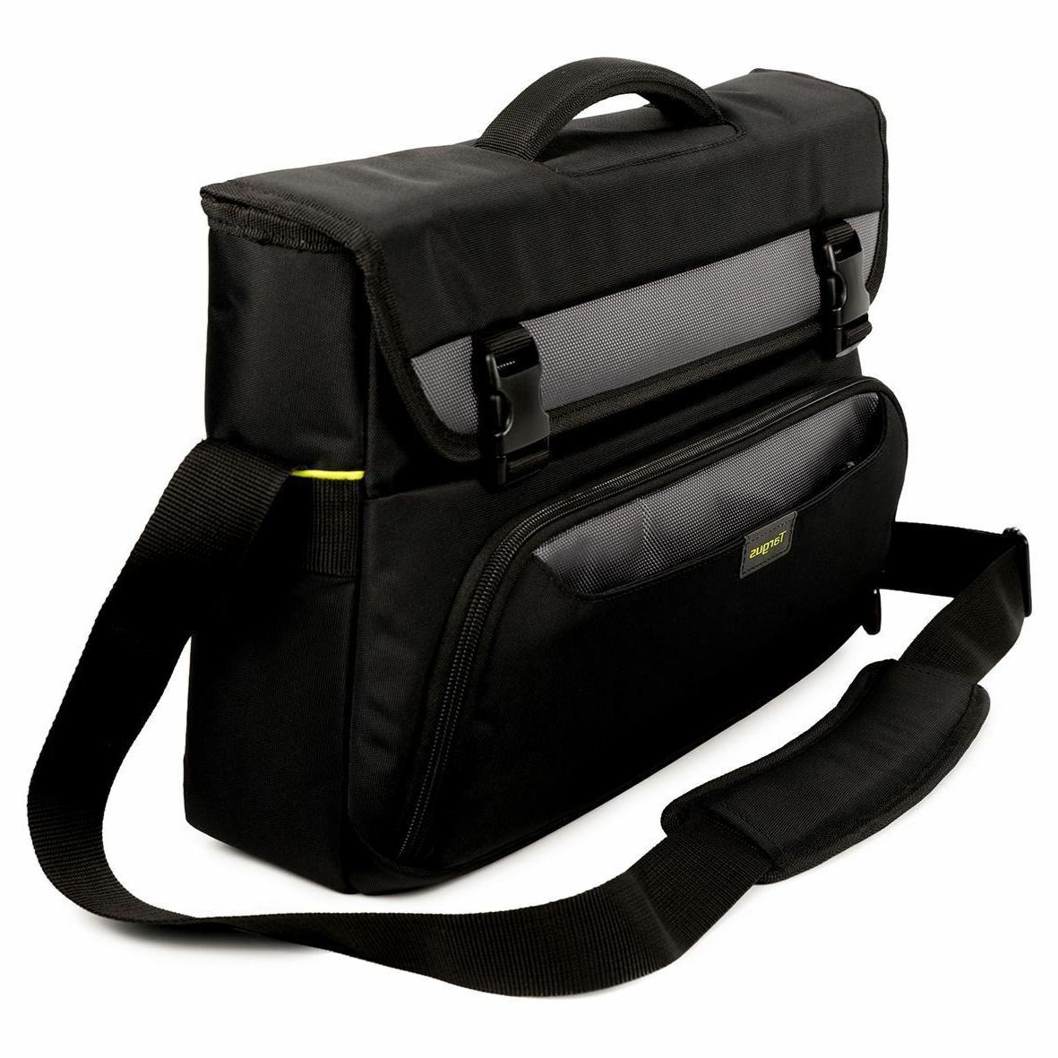Targus City Carrying for Notebook Gray - Shock Absorbing Poly, Polyurethane - Strap, - Height 13.4 6.3 Depth