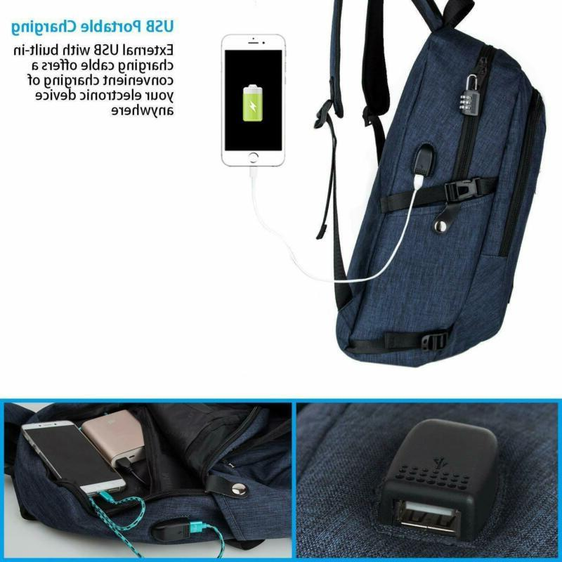 College Backpack, Laptop Backpack, Mancro Water