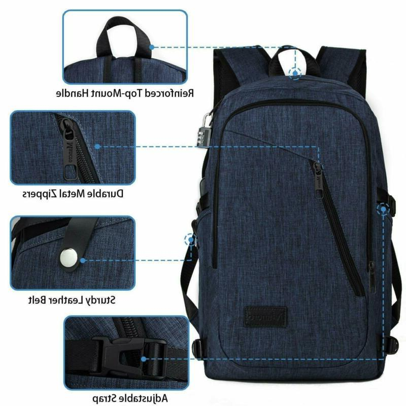 College Backpack, Laptop Backpack, Mancro Water Resista