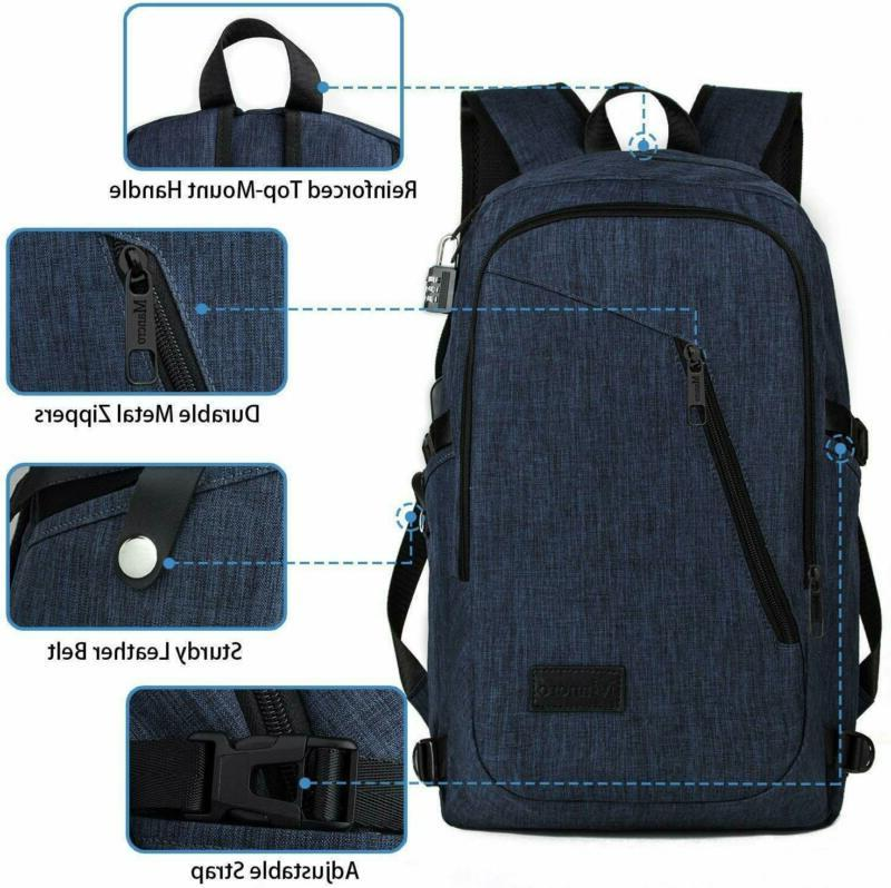 College Backpack, Slim Backpack, Mancro Resistant