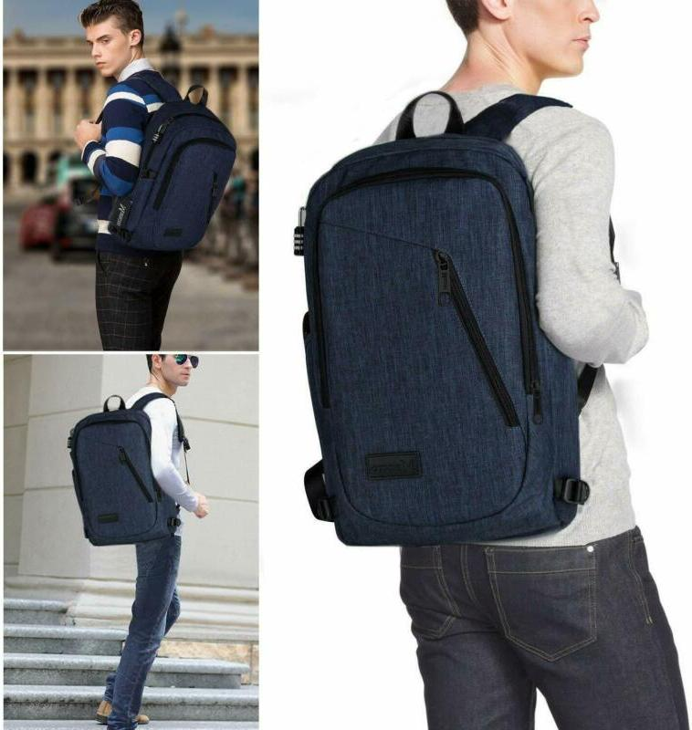 College Laptop Backpack, Water Resistant