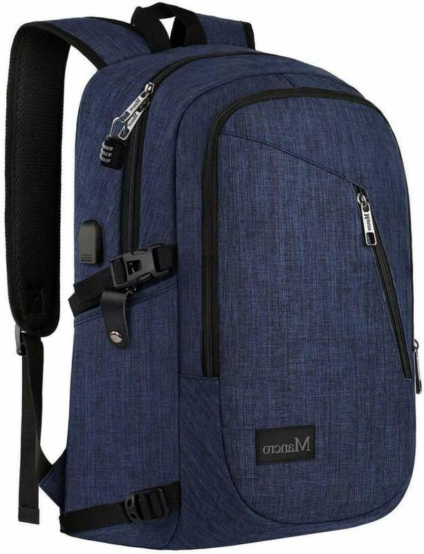 college backpack slim laptop backpack anti theft