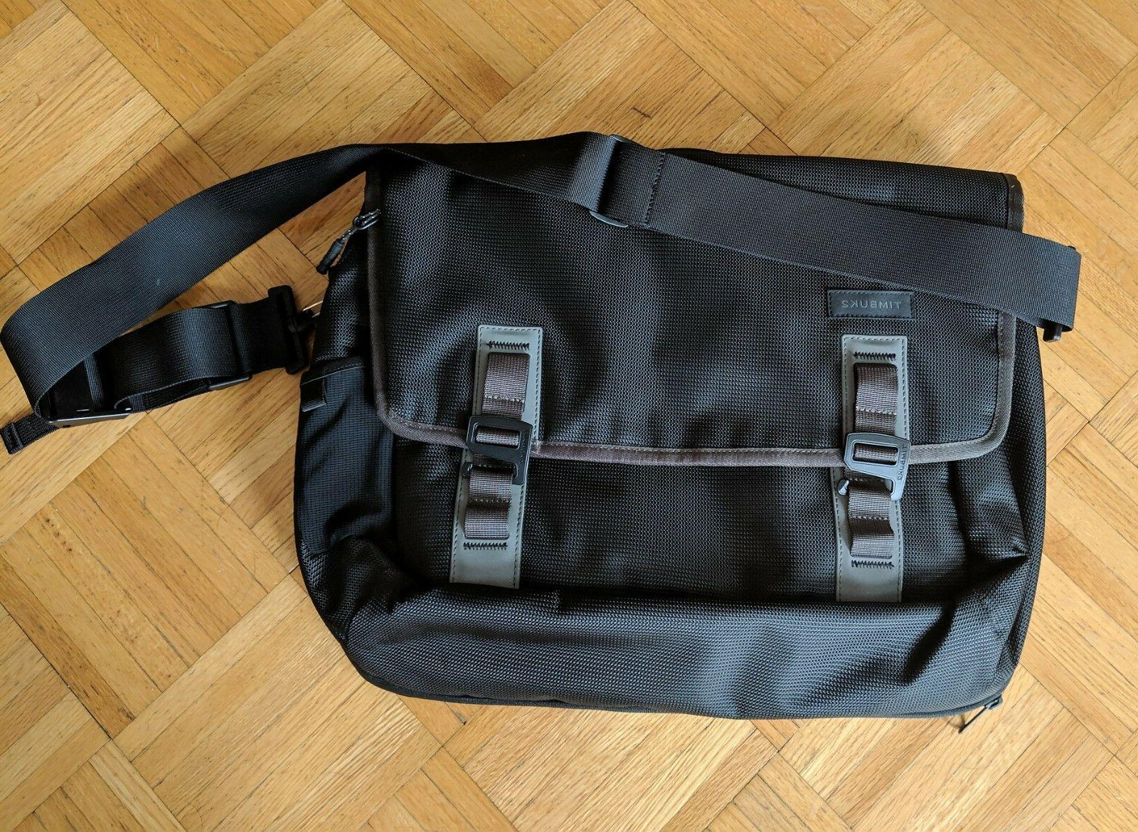 command laptop messenger bag new without tags