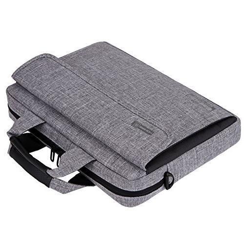 Brinch 13.6 Fabric Laptop Messenger Shoulder Inch / Chromebook
