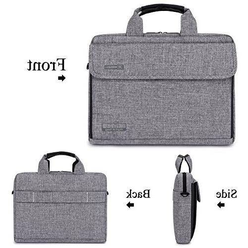 Brinch 13.6 Unisex Fabric Shoulder Inch Laptop/Notebook / /