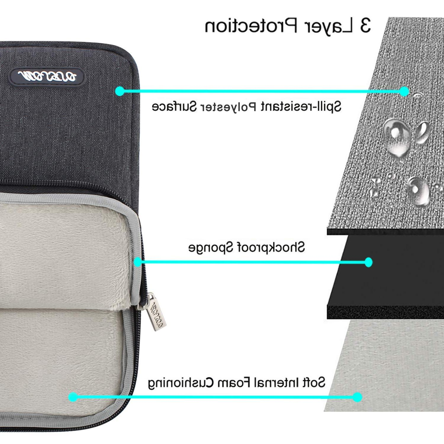 <font><b>MOSISO</b></font> 11 14 Notebook Sleeve Polyester <font><b>Bag</b></font> Case New Pro13 2018 13