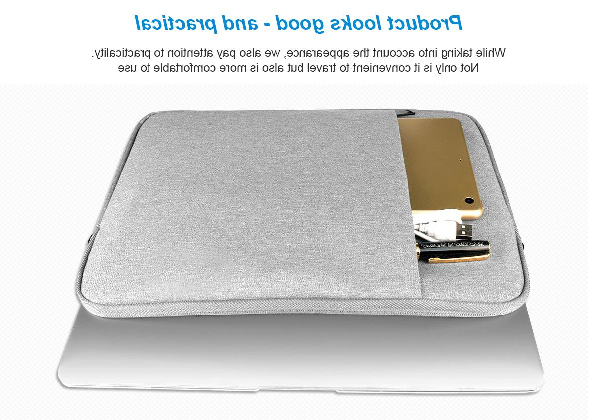 GOOJODOQ Sleeve Notebook <font><b>Bag</b></font> Case for 12 15 15.4 for ASUS/Surface 4