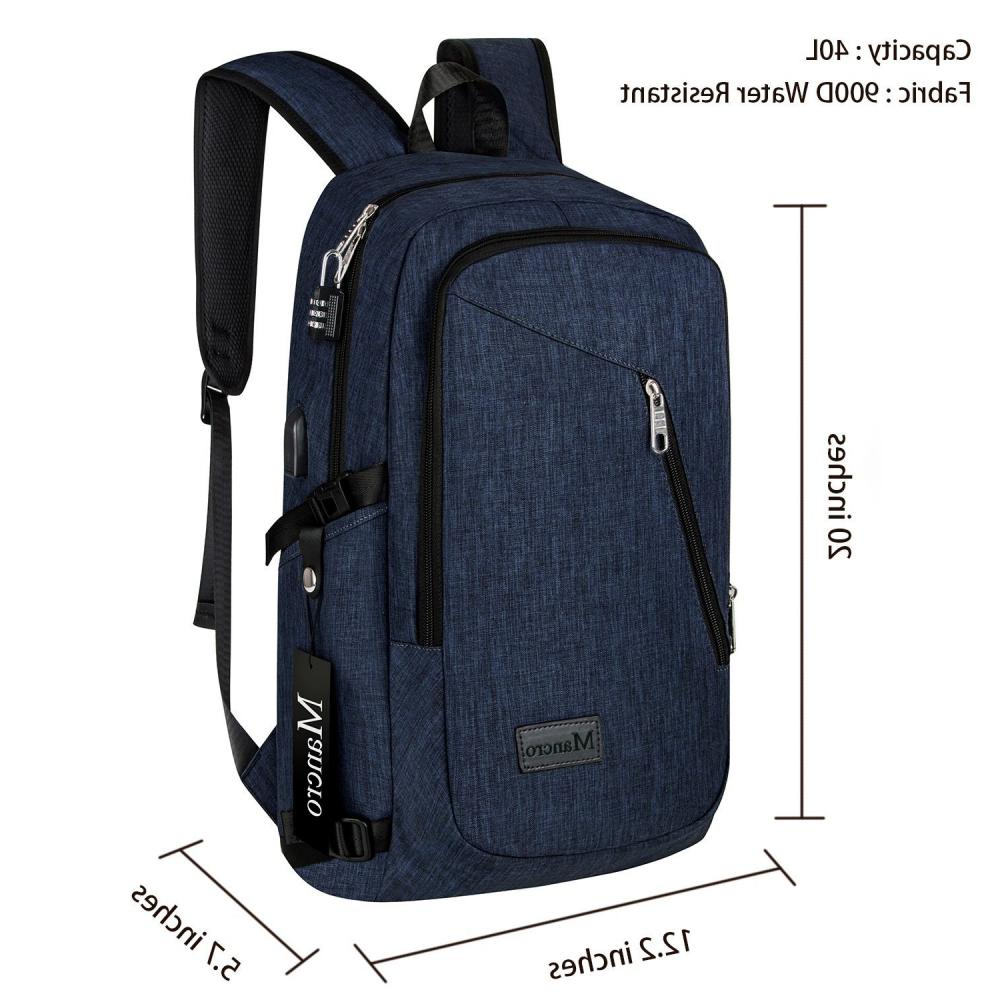 Laptop Backpack Computer Business Travel School New