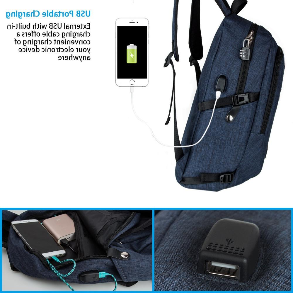 Laptop Backpack Computer Notebook Bag Travel New
