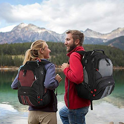 Travel Laptop Computer Backpack Fits 17 Men for / Smart Scan 9 Made Water-Resistant