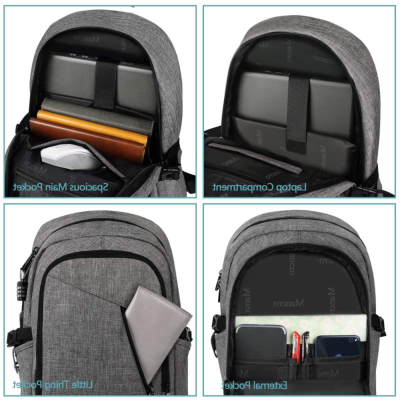 Laptop Backpack, Business Anti Theft Computer for Women and Slim