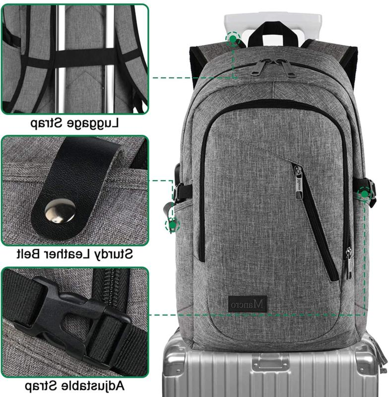 Mancro Laptop Water Resistant bag Backpack Gift