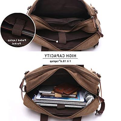 Laptop Backpack Multifunction Briefcase Inch Laptop Work