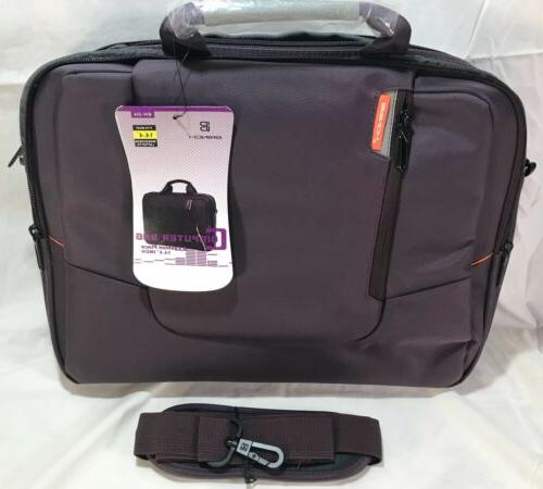 Laptop Bag BRINCH Fabric Laptop Messenger Shoulder