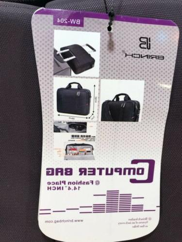 Laptop 14.4 Inch BRINCH Stylish Messenger Bag