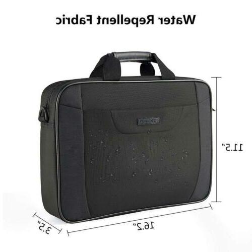 "KROSER Bag 15.6"" Briefcase Messenger 16.2x11.5x3.5"""