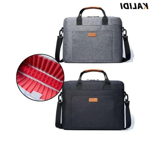 KALIDI Laptop Bag 17 inch Briefcase Shoulder Bag for HP Acer