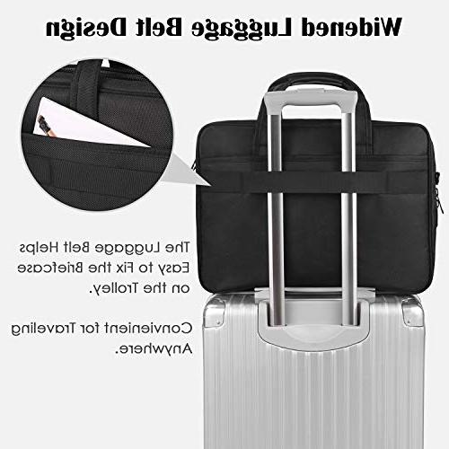 17 inch Laptop Large for Men Women, Travel Carrying Case 15.6 17 inch Expandable Computer Ultrabook